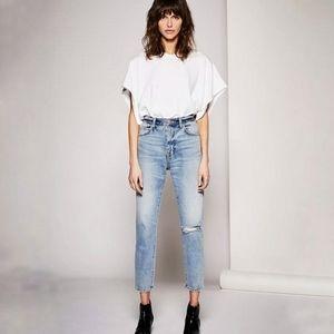 Current / Elliott The Vintage Cropped Slim Jeans